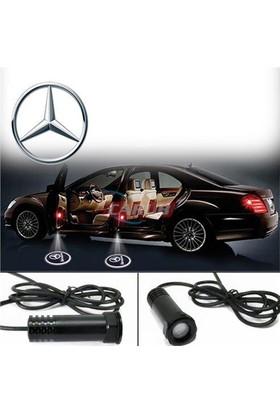 Demircioğlu Kapı Altı Işık Logo Mercedes 2Li