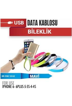 Demircioğlu Şarj Usb Data Bileklik 12V Iph5-5S-6 Mavi