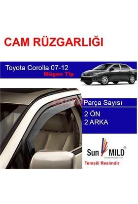 Demircioğlu Toyota Corolla Cam Rüzgarlığı 07-12 Mugen 4Lü