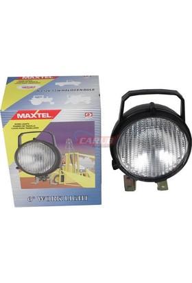 Maxtel Projektör 12V Mafsallı Anahtarlı