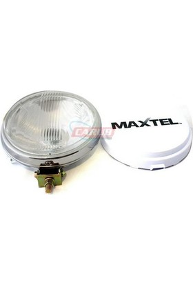 Maxtel Sis Lambası 12V Yuvarlak Krom Beyaz Jf161Cw