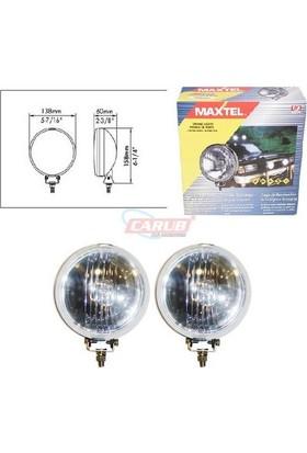 Maxtel Sis Lambası 12V Yvrlk 138Mm Krom Bey Jf601Cw