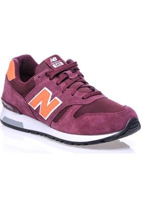 New Balance 565 Bordo Erkek Günlük Ayakkabı
