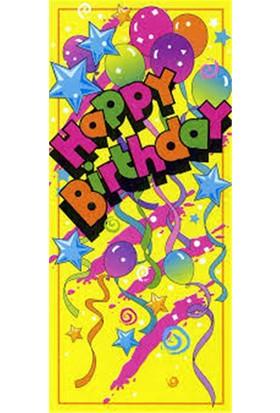 Parti Şöleni Happy Birthday Kapı Banner