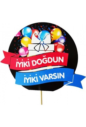 Parti Şöleni Happy Birthday Konuşma Balonu