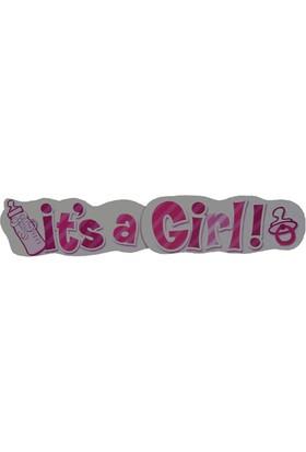 Parti Şöleni It's A Girl Banner 1 Adet