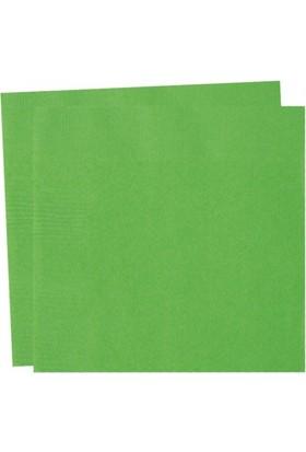Parti Şöleni Yeşil Peçete 20 Adet