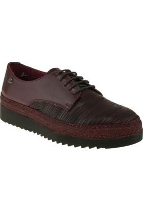 Venüs 234609 Bağlı Casual Bordo Kadın Ayakkabı