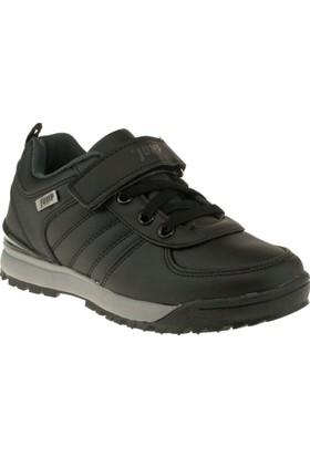 Jump 14002F Tek Cırt Siyah Çocuk Spor Ayakkabı