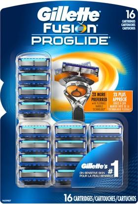 Gillette Fusion PROGLIDE 16 adet yedek başlık