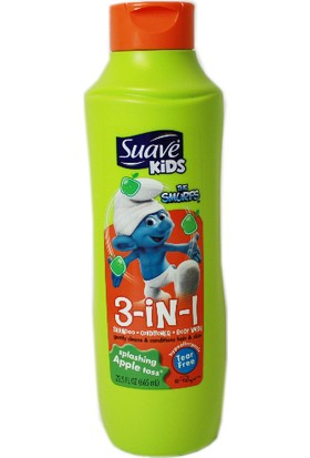 Suave Kids Splashing Apple Toss The Smurfs