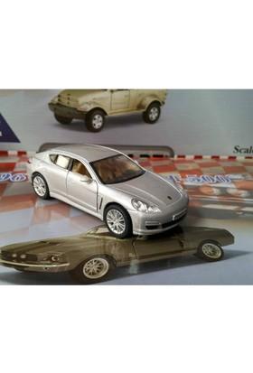 Kinsmart Porsche Panamera S Metal Araba (Gri)