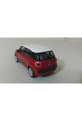 Welly 1:36 Fiat 500 L Metal Araba