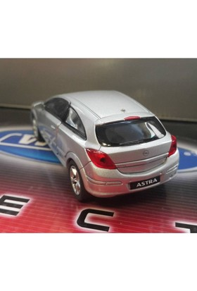 Welly 1:36 Opel Astra Metal Araba Gri