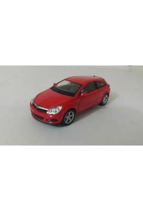 Welly 1:36 Opel Astra Metal Araba Kırmızı
