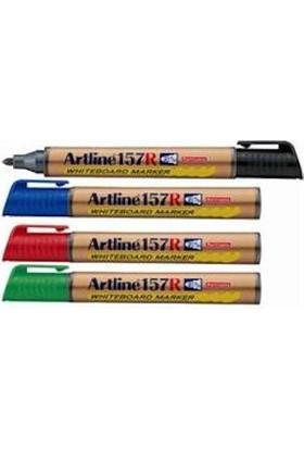 Artline 157R Doldurulabilen Yuvarlak Uçlu Beyaz Tahta Kalemi Turuncu