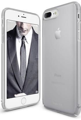 Ringke Slim Frost iPhone 7/8 Kılıf Gray - 4 Tarafı Saran Tam Koruma İnce Buzlu Şeffaf