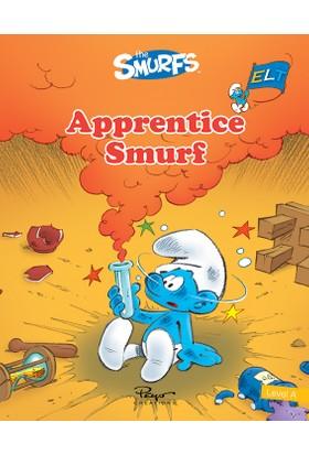 Şirinler Apprentıce Smurf Sb+Wb