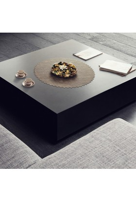Dinner Design Walnut Coffee Table 60 cm