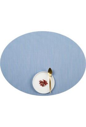 Dinner Design Cornflower Oval Model 36x48 cm