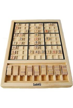 Blueway Ahşap Sudoku Eğitim Gelişim Zeka Matematik Oyunu