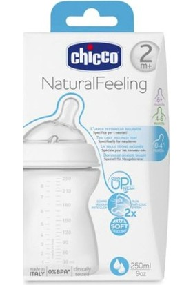 Chicco 80723 Natural Feeling Biberon 2 Ay 250 Ml