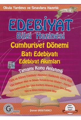 Gür Yayınları Edebiyat Bilgi Haz. Cumhuriyet Dönemi Batı Edeb.Tamamı Konu Anlatımlı