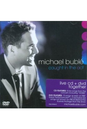 Mıchael Buble - Caught In The Act (Cd+Dvd)