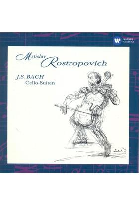 Mstıslav Rostropovıch - Bach: Cello Suıtes