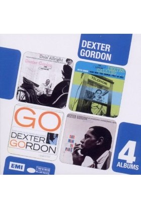Dexter Gordon - 4 Cd Boxset (Doın' Alrıght