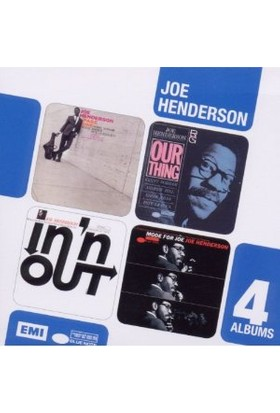 Joe Henderson - 4 Cd Boxset (Page One/Our
