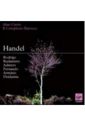 Alan Curtıs - Handel: 6 Compl.Operas:Rod