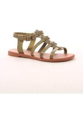 Gio&Mi Hs-28 Yeşil Sandalet