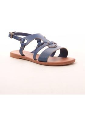 Gio&Mi Hs-101 Lacivert Sandalet