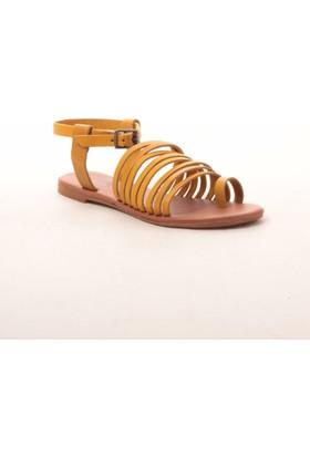 Gio&Mi Z28Kdm Sarı Sandalet