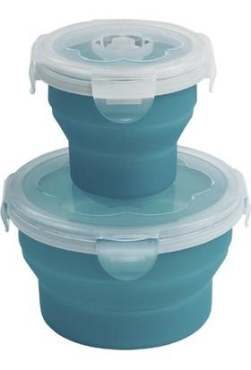 Outwell Collaps Mavi Katlanır Saklama Kabı