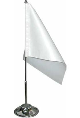 Bk Sublimasyon Tekli Masa Bayrağı (1 adet beyaz bayrak )