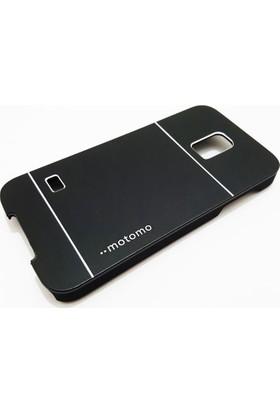 Motomo Samsung Galaxy S5 Mini Motomo Siyah Metal Kılıf