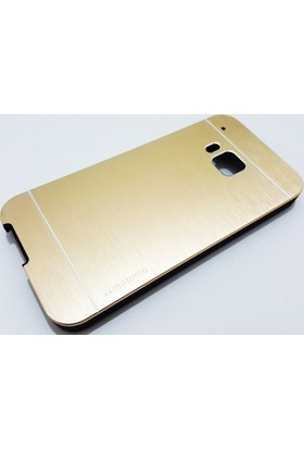 Motomo Htc One M9 Motomo Gold Metal Kılıf