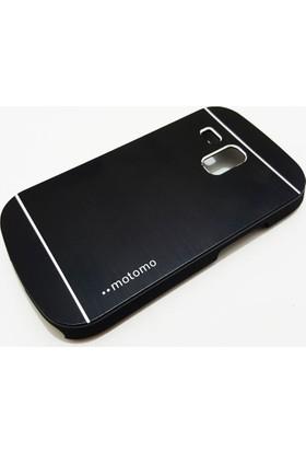 Motomo Samsung Galaxy S3 Mini Motomo Siyah Kılıf