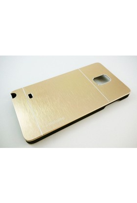 Motomo Samsung Galaxy Note 4 Motomo Gold Kılıf