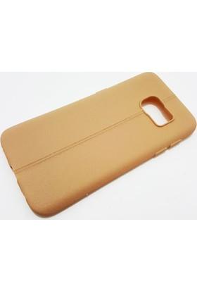 Zore Samsung Galaxy S7 Zore Kahverengi Silikon Kılıf