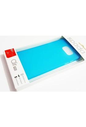 Spada Samsung Galaxy A5 2016 Spada Mavi Yumuşak Silikon Kılıf