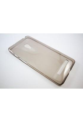 Mobillife Asus Zenfone 5 Şeffaf Siyah Silikon Kılıf