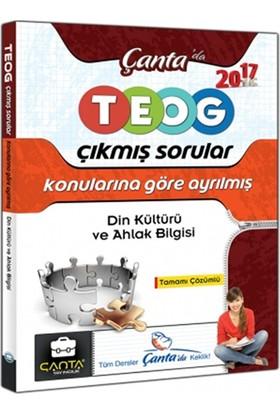 Çanta Yayınları 8.Sınıf Din Kültürü Ve Ahlak Bilgisi Teog Konularına Göre Ayrılmış Tamamı Çözümlü Çıkmış Sorular