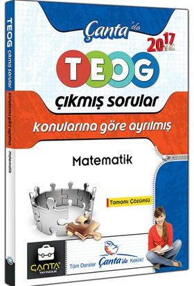 Çanta Yayınları 8.Sınıf Matematik Teog Konularına Göre Ayrılmış Tamamı Çözümlü Çıkmış Sorular