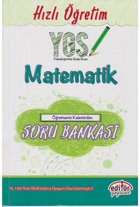 Editör Yayınları Ygs Hızlı Öğretim Matematik Soru Bankası