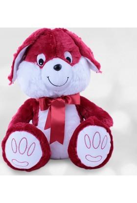 Selay Tavşan Peluş 40 Cm Kırmızı