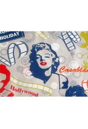 Pop Art Duck Kumaş Döşemelik Marilyn Monroe