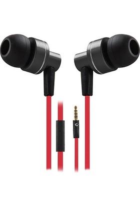 Rampage Phoenix Mobil Telefon Uyumlu Kulak İçi Siyah/Kırmızı Mikrofonlu Kulaklık